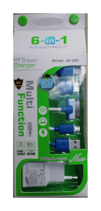 6 IN 1,Usb Travel Charger SR-1701
