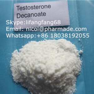 Testosterone Decanoate Raw Testosterone Powder Anabolic Steroid Hormone nicol@pharmade.com (skype:li