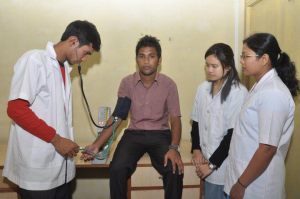 Nursing courses in North east India – Assam down town university