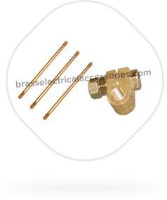 Brass Earth Rod Fittings and Earthing Accessories