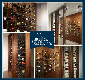 Knock-Out Custom Home Wine Cellar in Vancouver