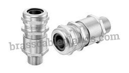 Double Compression Brass Cable Glands