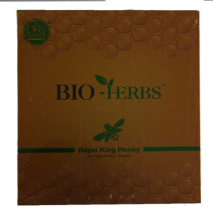 BIO-HERBS ROYAL KING HONEY (ONE BOX -10 SACHETS OF 30G)
