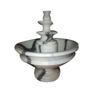 Makrana White Marble Indoor Fountains