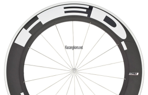 HED Jet 9 Flamme Rouge Clincher Wheel