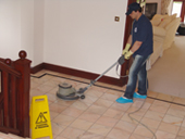 Tile, ceramic, terracotta cleaning and polishing