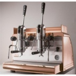 Athena Espresso Machine 2 Group Leva - Copper