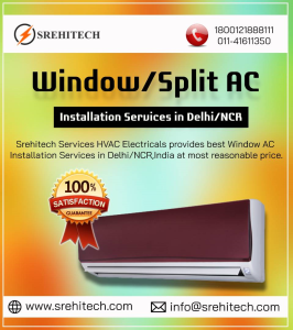 Window AC Installation Services in Delhi/NCR