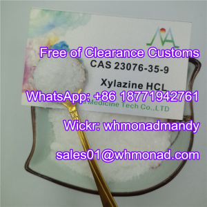 Analgesic and Muscle Relaxant CAS 23076-35-9 Xylazine Chloride