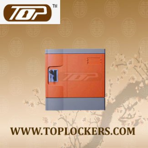 Six Tier ABS Plastic Club Locker, Multiple Locking Options