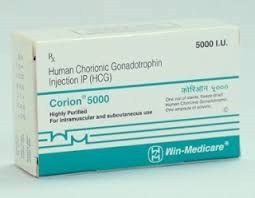 Corion 5000 iu HCG injection