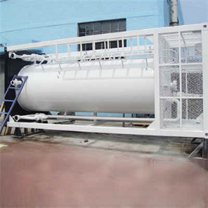 Horizontal Water Buffer Storage Tank, ASME Sec VIII