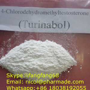 4-Chlorodehydromethyltestosterone Raw Testosterone Powder Oral Turinabol nicol@pharmade.com (skype:l