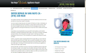DRYER REPAIR IN VAN NUYS CA