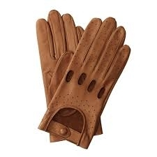 TESLAND GROUP Leather Driving Gloves