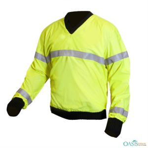 Lime Green Reversible Hi-Vis Sweater
