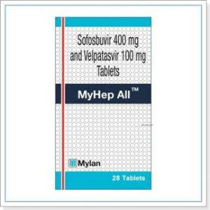 Velpatasvir & Sofosbuvir by MyLan : Buy MyHep All Tablets Online at Lowest Price