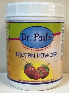 Strawberry - Dr. Pauls' Protein Powder