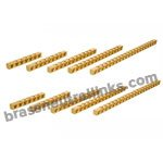 63 Amp Brass Neutral Links