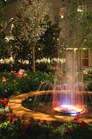 Flower fountain