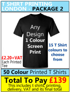SCREEN PRINTER LONDON