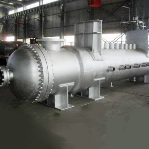 Copper Shell-and-Tube Heat Exchanger