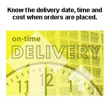 Delivery ontime.