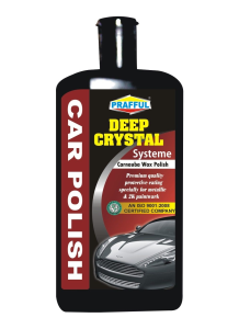 PRAFFUL DEEP CRYSTAL CARNAUBA WAX AND POLISH 500 ML