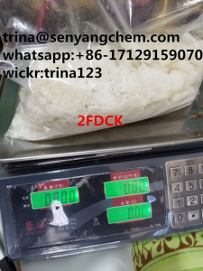 Offer Purity 99.9% 2F DCK 2FDCK 2-FDCK White Crystalline Powder CAS:11982-50-4 (trina@senyangchem.co