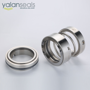 YALAN 108U Single Spring Mechanical Seal for Water Pumps, Circulating Pumps and Vacuum Pumps
