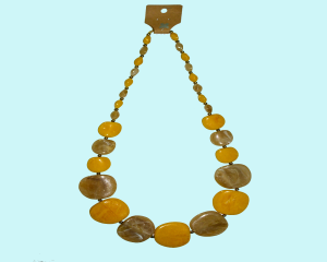Resin necklace in India