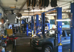 Full-Service Car Inspection Area at Princeton MN