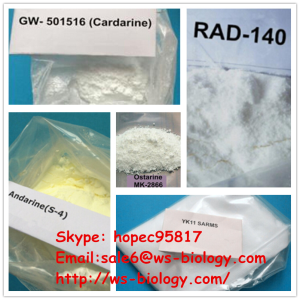 CAS 1196133-39-7 SARMs Powder LGD-3303 For Muscle Building With Less Suppression sale6@ws-biology.co