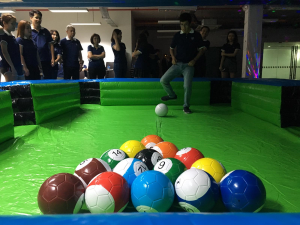 Inflatable Snooker