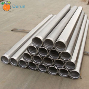 Wedge Wire Screen Use for API Petroleum Well Casing Pipe