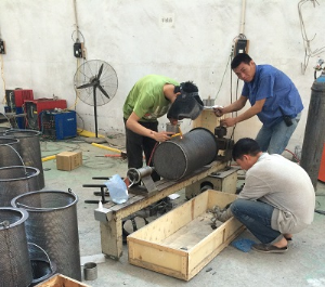 Our worker to processing and made basket strainer