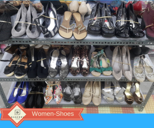 Shoes: wedge, flats and high heels