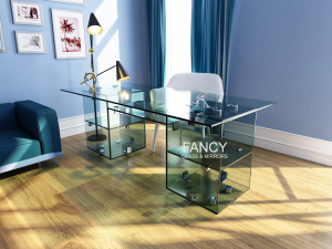 QUBE GLASS WORK DESK