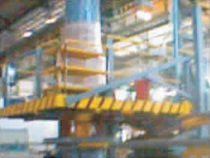 Above Floor Type Vertical Coil Winding Machine