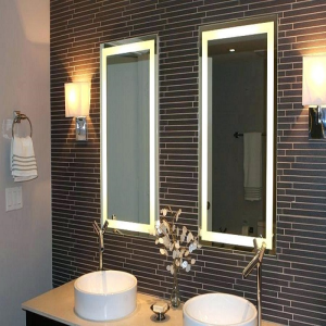 Ikea Led Mirror Lights Ring Light Mirror Illuminated Bathroom