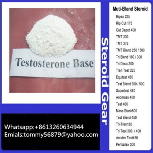 testosterones base steroid powder for muscle building