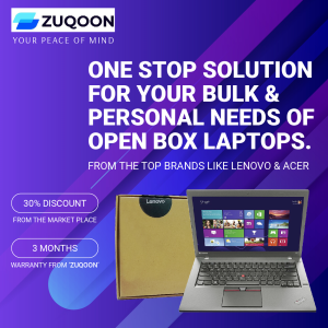 Open-Box Laptop at Zuqoon