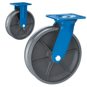 V groove casters