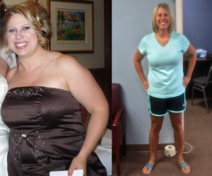 Lori has lost 50 pounds in less than 6 months!