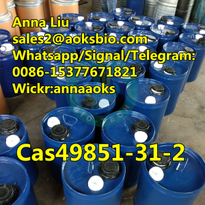 Factory AOKS  49851312, cas 49851-31 2/ 2-BROMO-1-PHENYL-PENTAN-1-ONE in CAS 49851-31-2 ,sales2@aoks