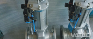 Actuated Pinch Valve