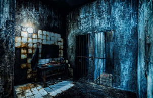 Escape room with live actor The Ring