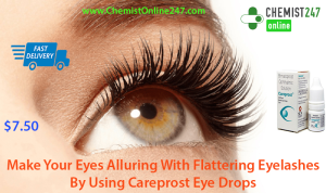 For Denser And Longer Eyelashes Use Careprost Eye Drops