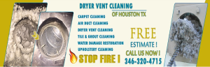 Dryer Vent Cleaning of Houston TX
