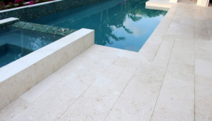 Aegean Collection Myra White limestone tiles